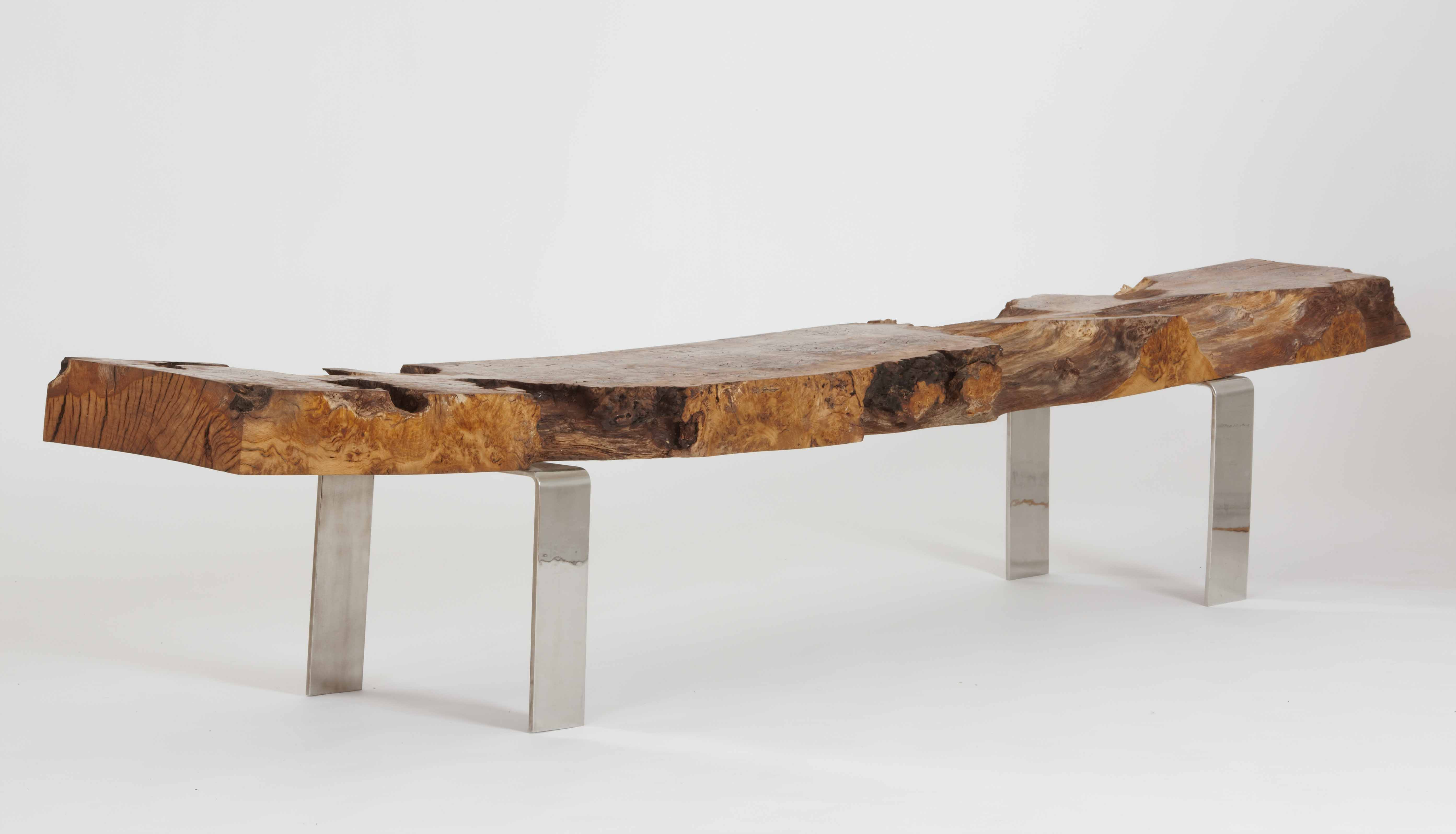 Wood & metal – a fusion of strength & beauty