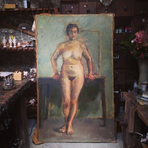 Holt Harrison Nude Portrait